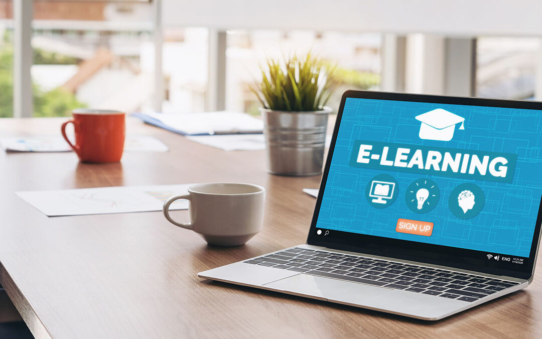 laptop e-learning